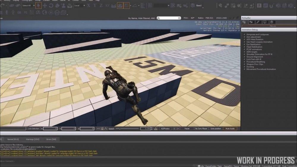 Star Citizen 3.5 - Usprawnienia animacji
