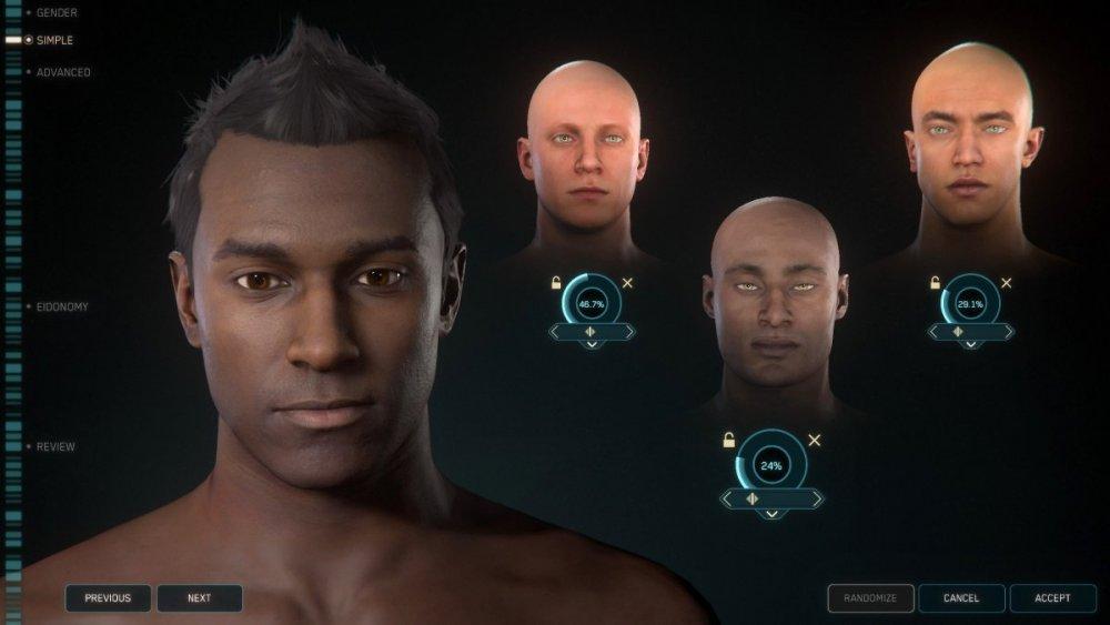 Star Citzien 3.5 - Tworzenie postaci DNA. Character Customization.