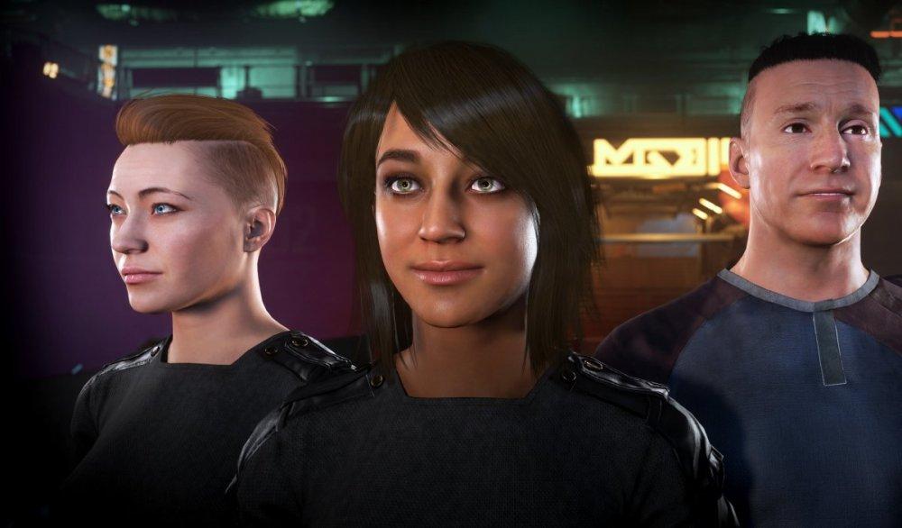 Star Citizen 3.7 - Konfigurator wyglądu postaci