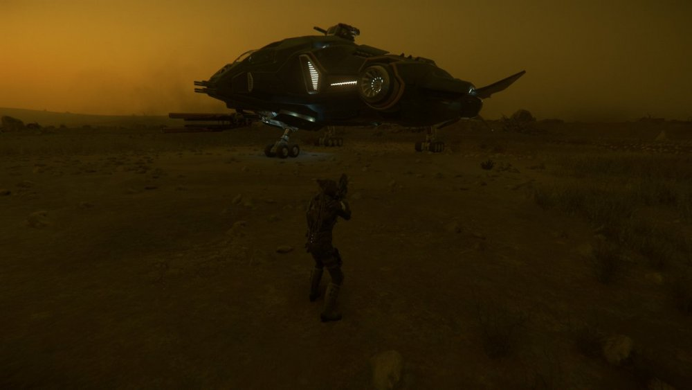 Star Citizen 3.7 - Vanguard Sentinel, Aberdeen Cave