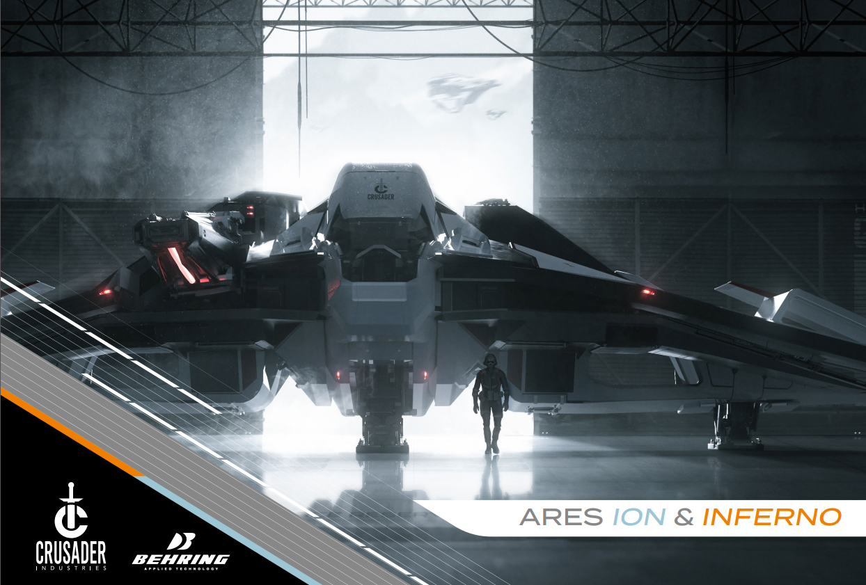 Crusader Ares Starfighter -  Myśliwiec ponad swoją wagę