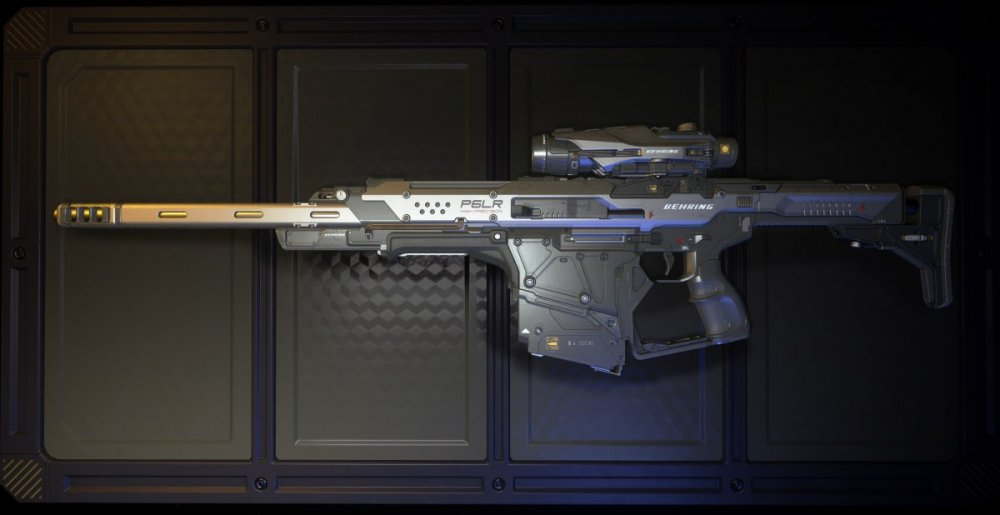 Star Citizen 3.8 - Behring P6-LR Sniper Rifle