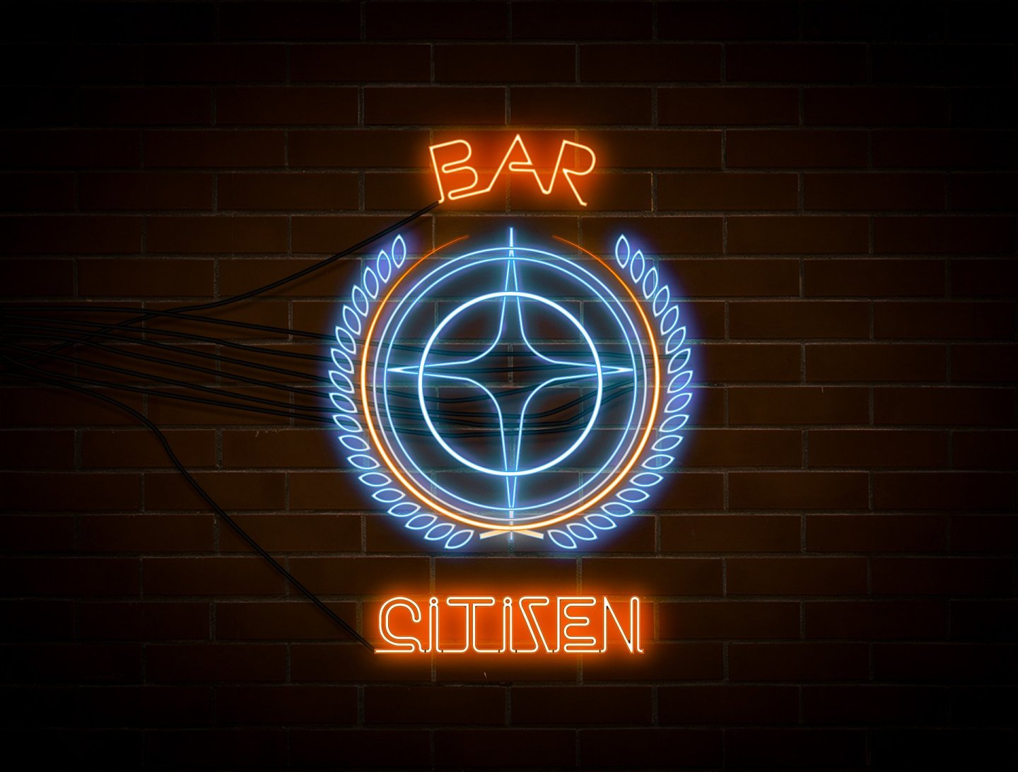 Star Citizen - Mining, Bar Citizen Logo